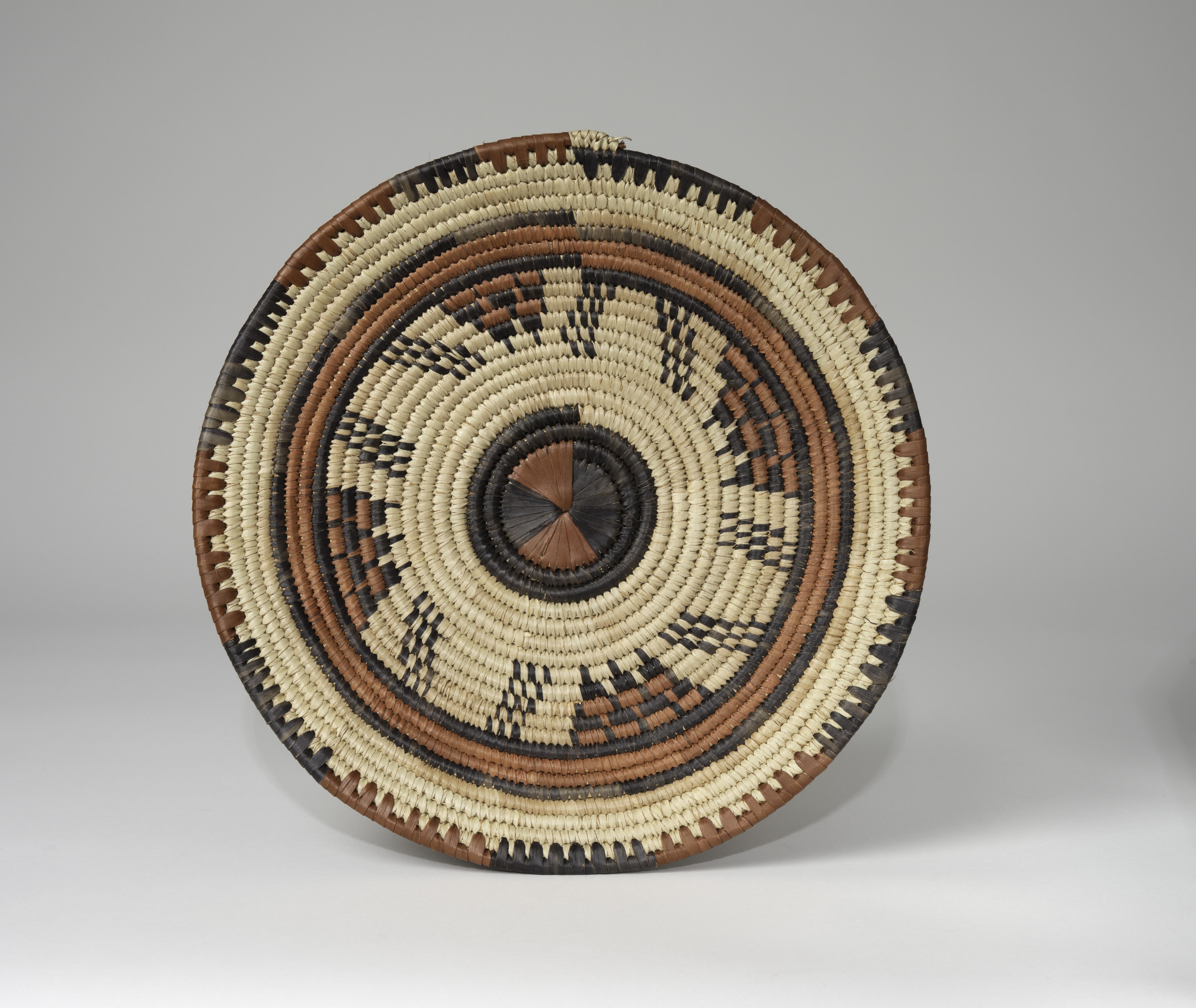Coiled plaque, Hausa Tribe, Nigeria, ca. 1970