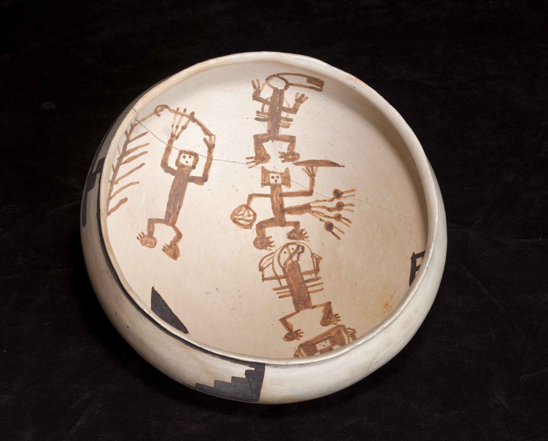Sikyatki Polychrome Bowl, Ancestral Hopi/northern Arizona, dating to as early as 1425 CE