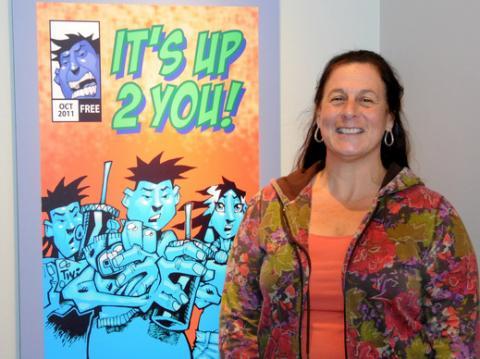 Lisa Falk, ASM head of community engagement