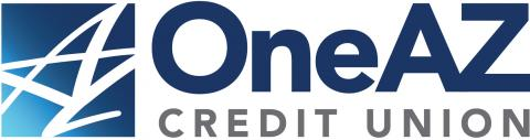 This image is the logo for OneAZ Credit Union.