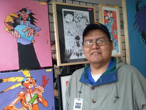 Ryan Huna Smith (Chemehuevi/Navajo)