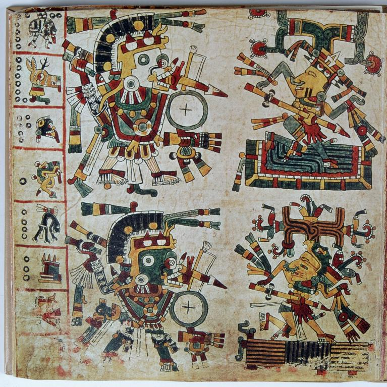 A page from the Codex Copsi
